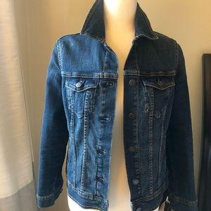 Sz S petite dark jean jacket